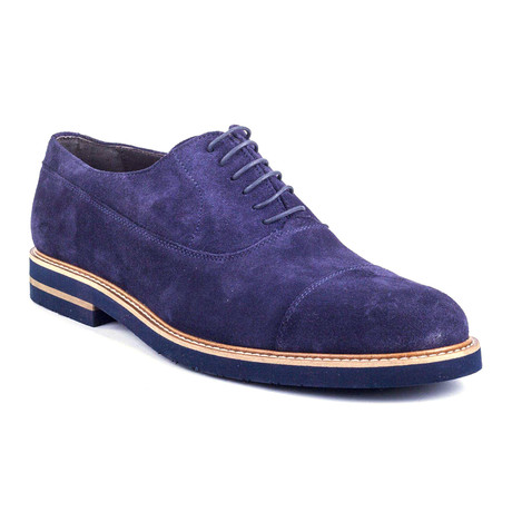 Salano Suede Oxford // Blue (Euro: 39)