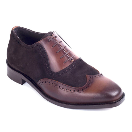 Fosel Leather Oxford // Brown (Euro: 39)