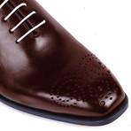 Batton Leather Oxford // Cognac (Euro: 45)