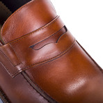 Cafaz Leather Loafer // Cognac (Euro: 41)