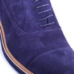Salano Suede Oxford // Blue (Euro: 41)
