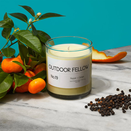 No. 19 Pepper + Orange // 8oz Candle