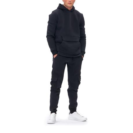 Jerry Tracksuit + Zipper Pockets // Black (Small)