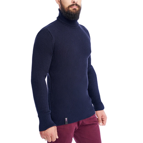 Bruce Sweater // Navy (S)