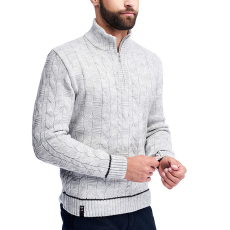 Benjamin Sweater // Light Gray (S)