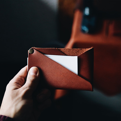 Cardholder Classic (Natural Brown)