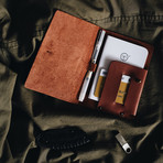 Passport Wallet (Natural Brown)