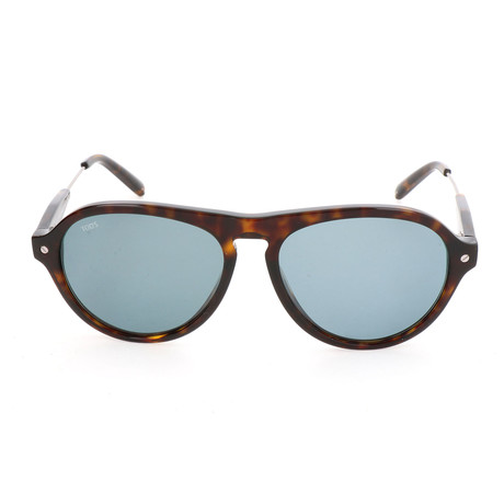 Men's TO0232 Sunglasses // Dark Havana