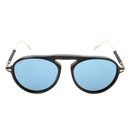 Men's TO0205 Sunglasses // Shiny Black