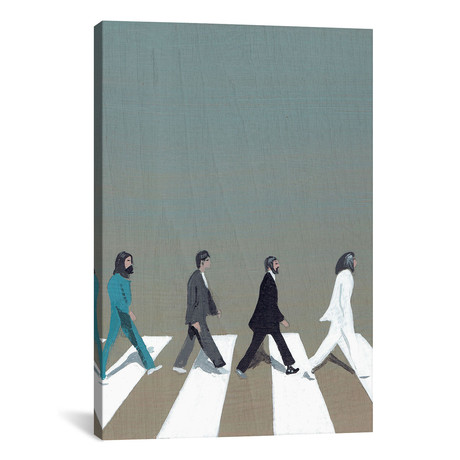 "Abbey Road (12""W x 18""H x 0.75""D)"