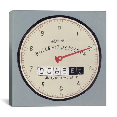 "Genuine Bullshit Detector (12""W x 12""H x 0.75""D)"