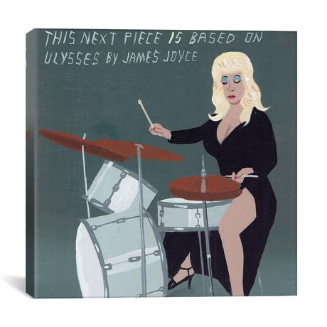 "Ulysses // James Joyce (12""W x 12""H x 0.75""D)"