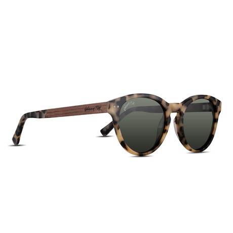 Unisex // Polarized // Latitude Sunglasses // White Tortoise + G15