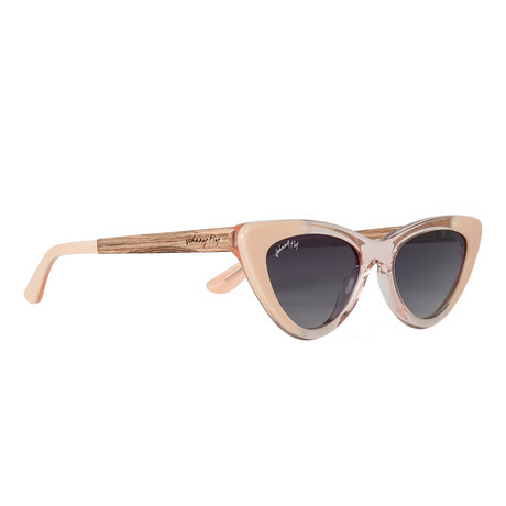 Unisex // Polarized // Vista Sunglasses // Peaches N' Cremé + Smoke Gradient