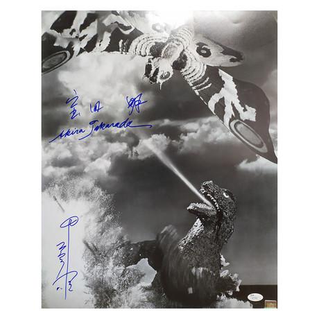 Godzilla + Mothra