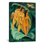 "Three Bathers // Ernst Ludwig Kirchner (12""W x 18""H x 0.75""D)"