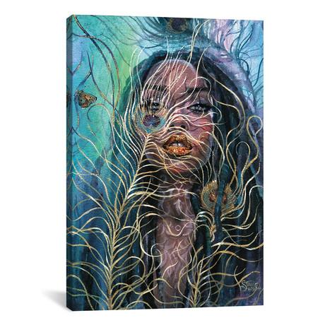 """Veil // Tanya Shatseva (12""""W x 18""""H x 0.75""""D)"""