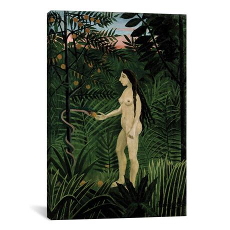 """Eve // Henri Rousseau // 1906-07 (12""""W x 18""""H x 0.75""""D)"""
