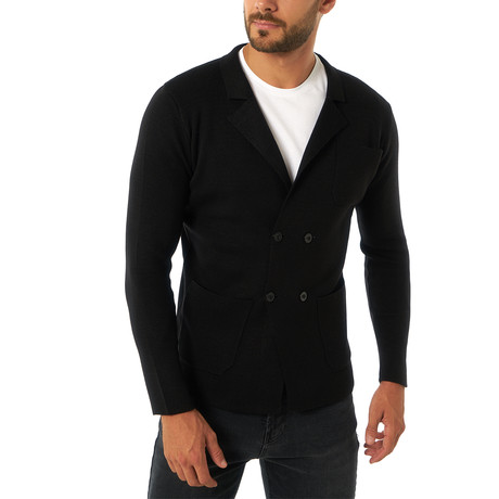 Santos Sweater // Black (XS)