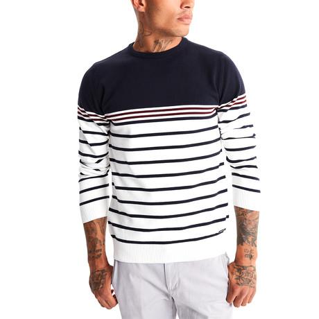 Jimmy Sanders // German Sweater // Navy (XS)