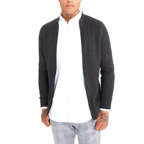 Jimmy Sanders // Victor Sweater // Anthracite (XS)