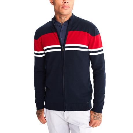 Jimmy Sanders // Amerigo Sweater // Navy (XS)