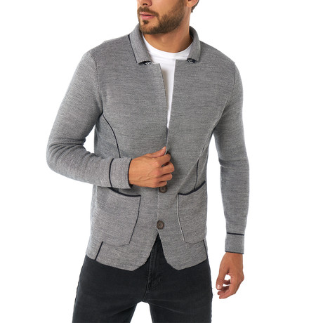 Pereira Sweater // Navy Ecru (XS)