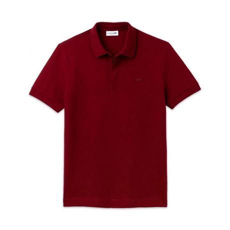 Polo Shirt // Bordeaux (XS)