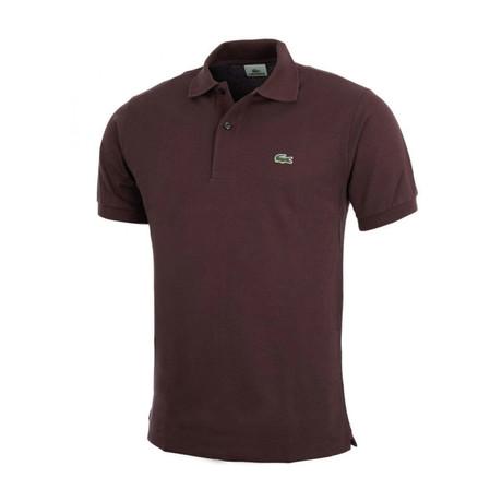 Vertigo Polo Shirt // Chocolate (XS)