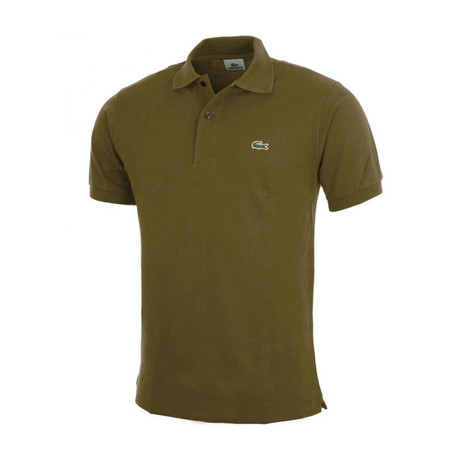 Soldier Polo Shirt // Green (XS)