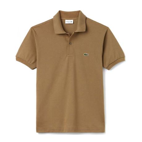 Kraft Polo Shirt // Brown (XS)