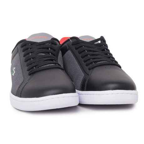 Sneakers // Black + Red (Euro: 39)