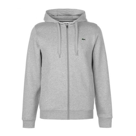 Zip Up Hoodie // Gray (XS)