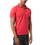 Grayson Short Sleeve Polo // Red (S)