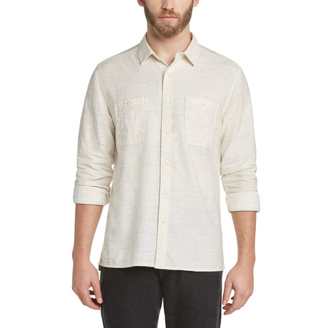 Kelvingrove Twill Shirt // Irish Cream (S)