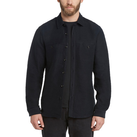 Shoreditch Shirt Jacket // Black (S)