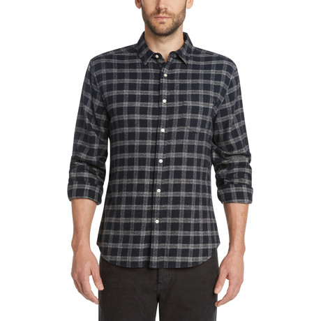 Marylebone Check Shirt // Black (S)