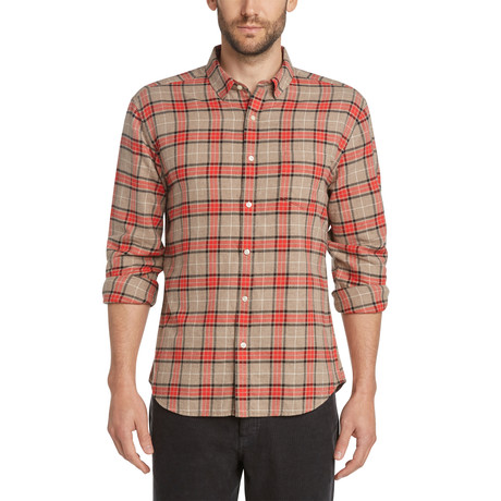 Tartan Shirt // Heather Portobello (S)