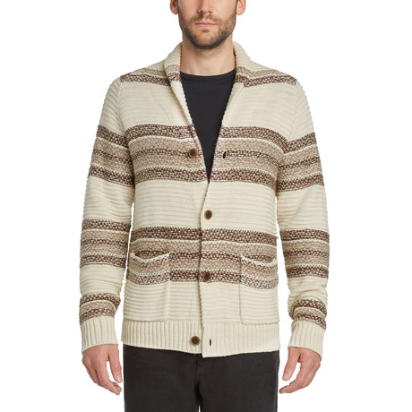 Shetland Cardigan Sweater // Irish Cream (S)