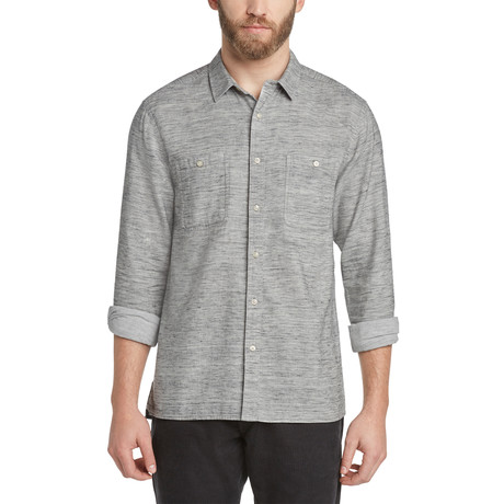 Kelvingrove Twill Shirt // Heather Charcoal (S)