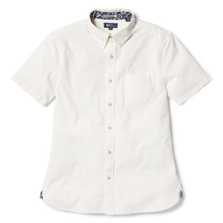 Solid Stretch Oxford // White (XS)