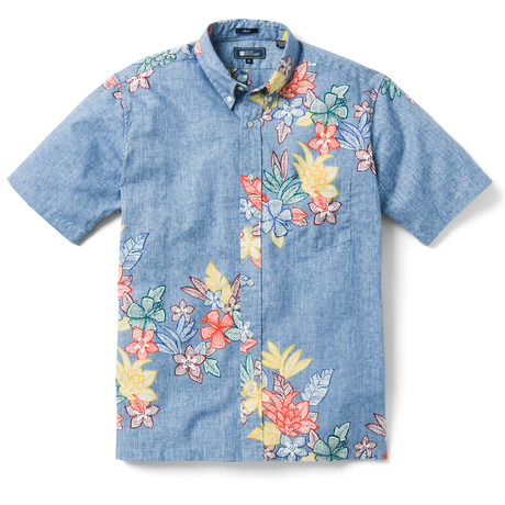 Outh Pac Garlands Button Front // Allure (XS)