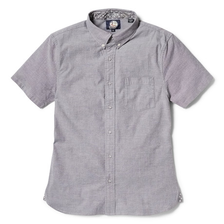 Solid Stretch Oxford // Gray (XS)