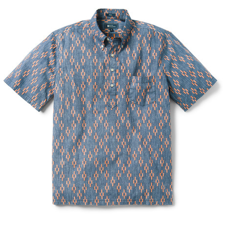 Naha Kasuri Pullover // Maritime Blue (XS)