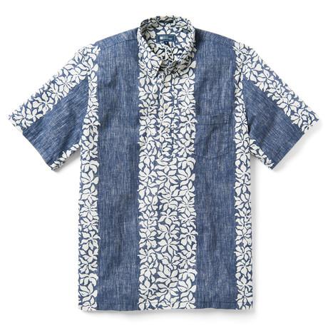 Summer Stripe Pullover // Peacoat (XS)