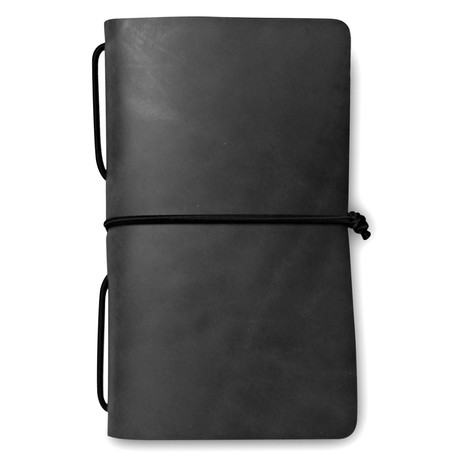 Frontier Travel Journal // Black + Black Shockcord