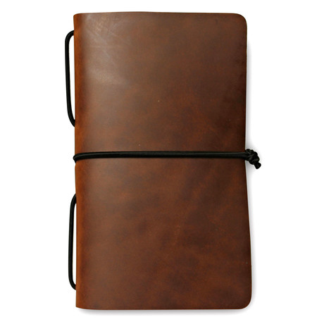 Frontier Travel Journal // Brown + Black Shockcord