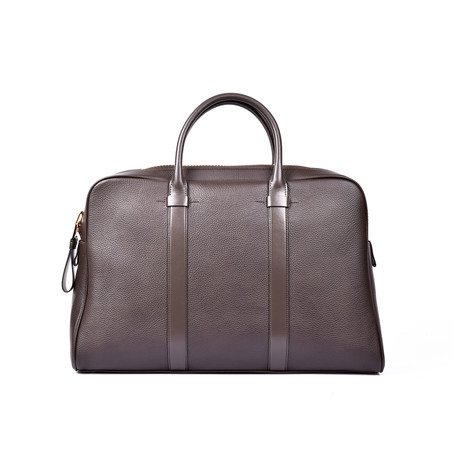 Leather Briefcase // Brown