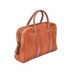 Suede Briefcase V2 // Brown