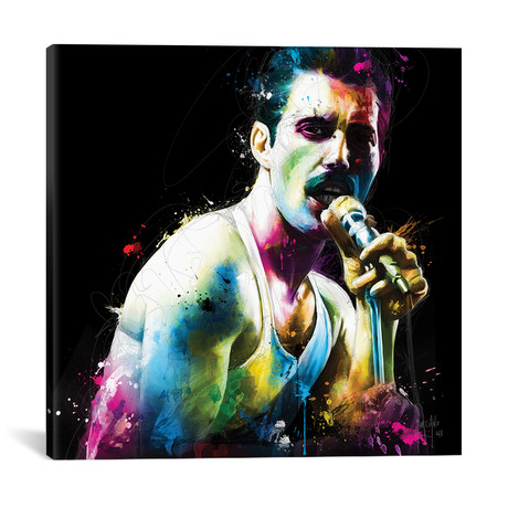 """The Show Must Go On // Patrice Murciano (12""""W x 12""""H x 0.75""""D)"""
